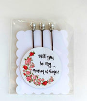 Matron of Honor Bobby Pin Set - bel monili, Pittsburgh PA, country living fair, vintage market days