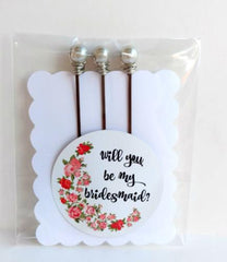 will you be my bridesmaid ask gift