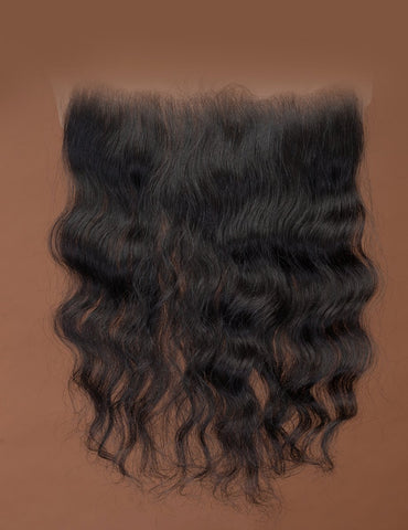Cambodian Natural Wavy Frontal 13x6
