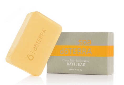 dōTERRA Citrus Bliss® Invigorating Bath Bar