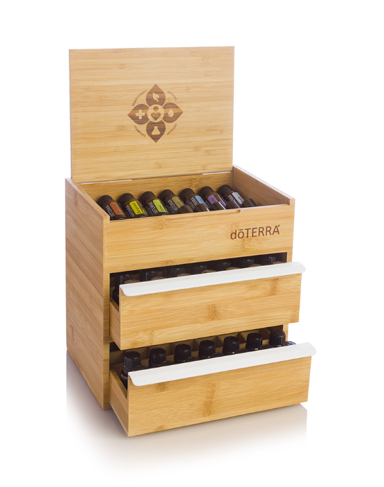 dōTERRA Bamboo Box (double drawer)