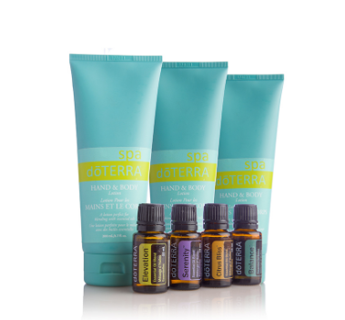 dōTERRA Hand and Body Lotion (3 Pack) and Elevation®, Citrus Bliss®, Serenity®, and Balance® Collection