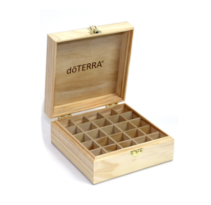 dōTERRA Logo Engraved Wooden Box