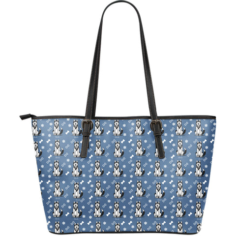 Prints - Husky - Large Tote bag