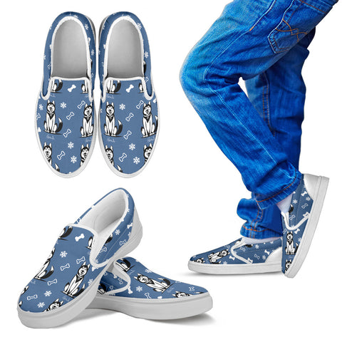Icesky - Husky - Kids Slip on shoes