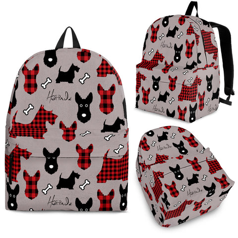 Tarten Terrier - Scottish Terrier - Backpack