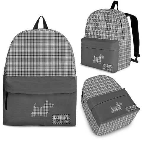 Great Scots Tartan - Scottish Terrier - Backpack