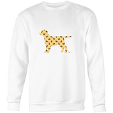Prints - Labrador - Crew Neck Jumper Sweatshirt