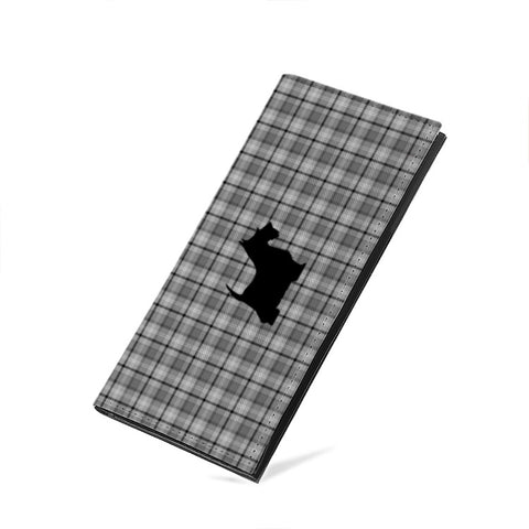 Prints - Scottish Terrier - PU Leather Multi-Card Long Bifold Wallet