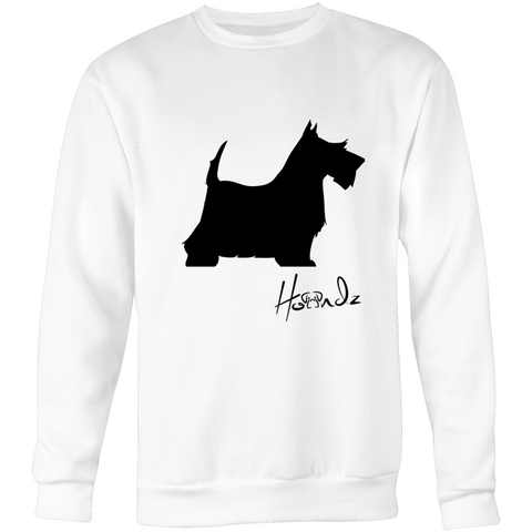 Scottish Terrier - Crew Neck Jumper Sweatshirt