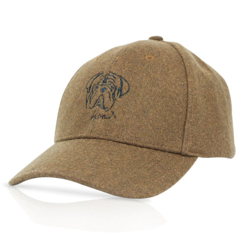 Faces - Bulldog - Brown Woolen Cap