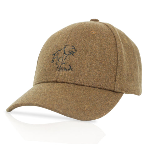 Signature - Stafford shire Terrier - Brown Woolen Cap