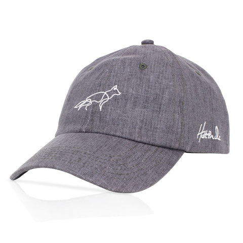 Signature - German Shepherd - Grey/blue Hemp Cap