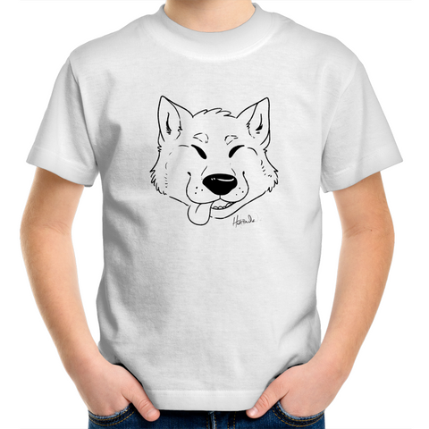 Cartoon Shiba Inu - Kids Youth T-Shirt