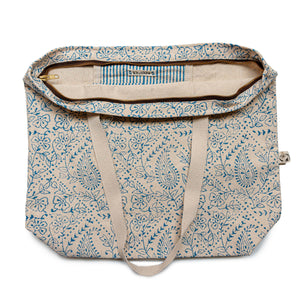 big paisley eco bag