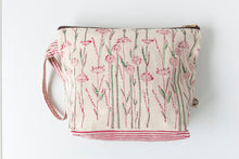 spring bloom toiletry bag