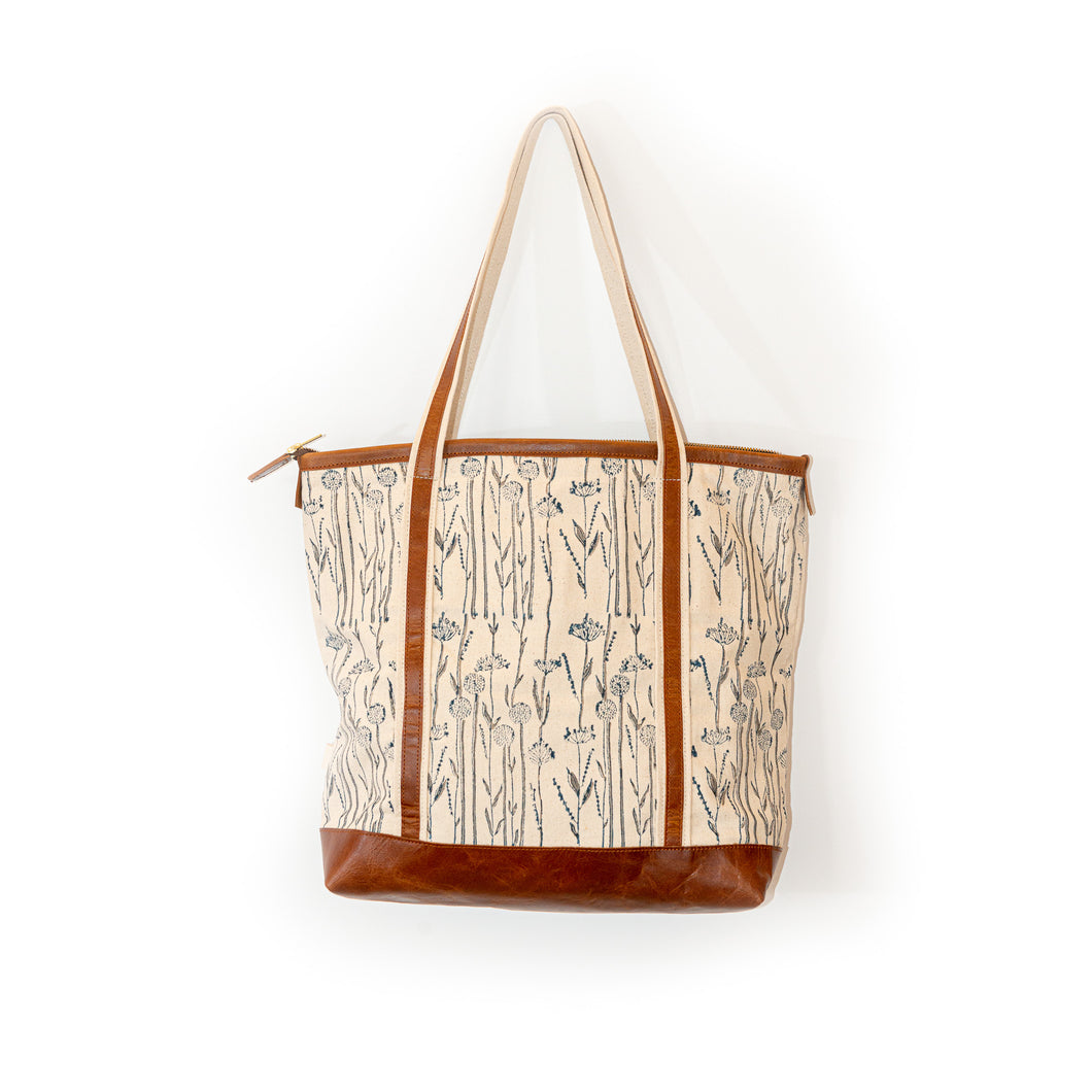 khushbu flower Zada tote bag