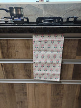 jungli phool tea towel