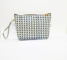 Leher toiletry bag