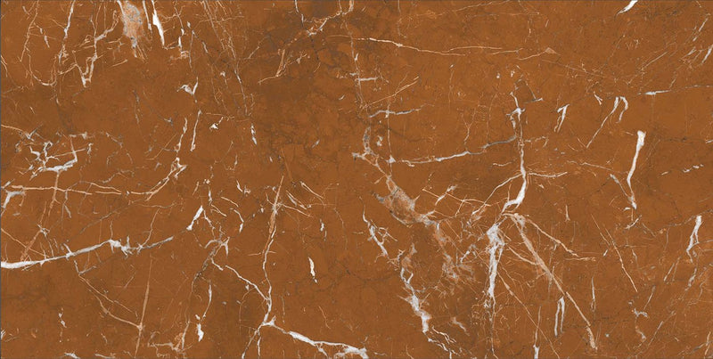 Rosso Red 60x120cm Porcelain Floor Tile (12303)