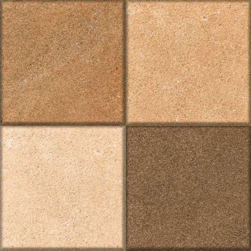 Paso Brown 40x40cm Porcelain Floor Tile (Parking Series)