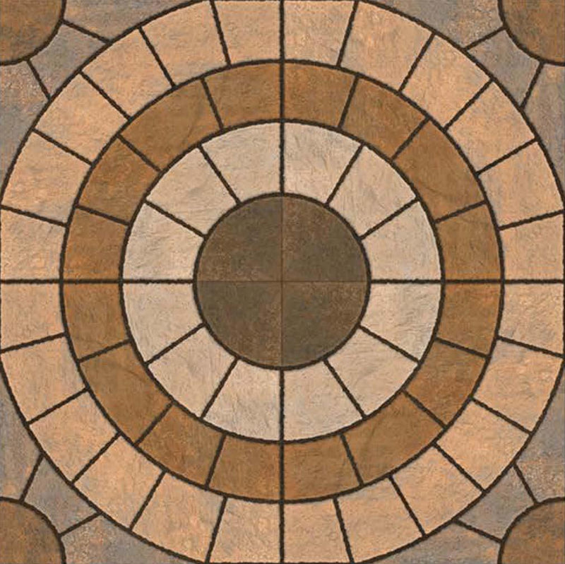 Rainbow Beige 40x40cm Porcelain Floor Tile (Parking Series)