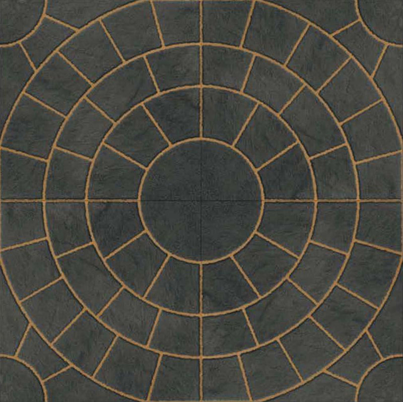 Rainbow Black 40x40cm Porcelain Floor Tile (Parking Series)