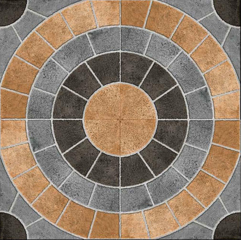 Rainbow Multy 40x40cm Porcelain Floor Tile (Parking Series)