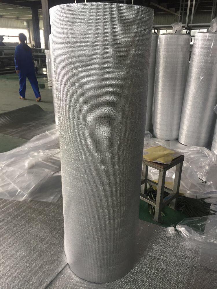 Double Side Grid Silver Foil EPE Foam Insulation 3mm