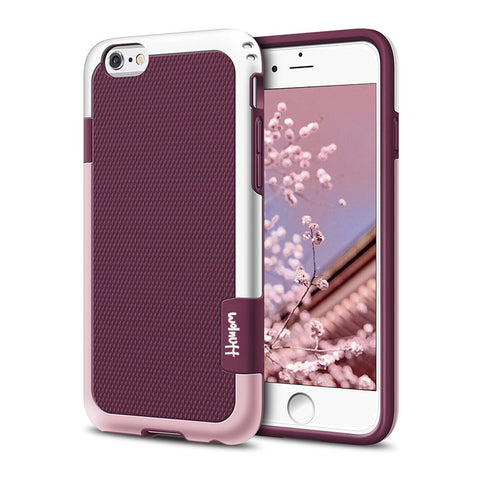 Two Toned Shockproof Case for iPhone - CaseifyYourLife