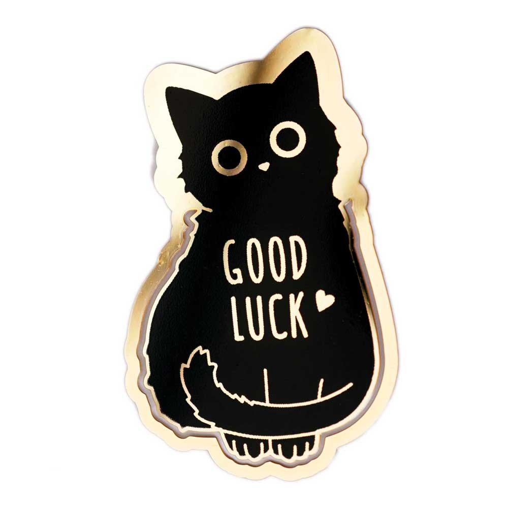 Good Luck Cat Bookmark