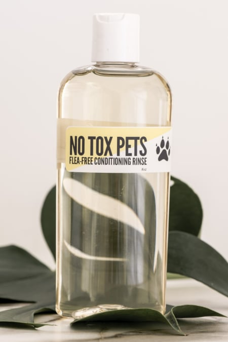 Flea-Free Dog Rinse Bottle (Rinse Bottle Only)