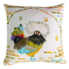 Betsy Olmsted Design - Polish Rooster Pillow