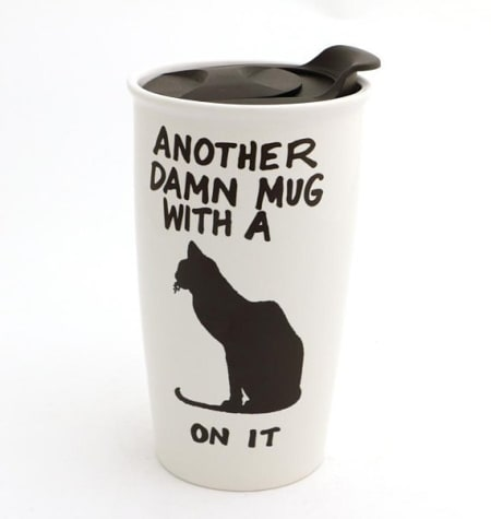 Another Damn Cat Travel Mug