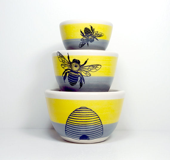 Circa Ceramics - The Urban Set For The Bee Keeper