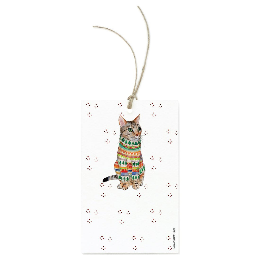 Tabby Cat Gift Tag Set