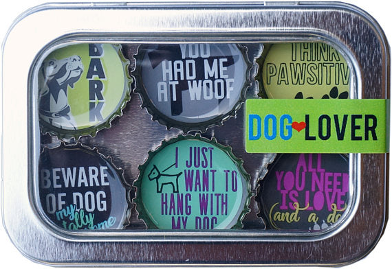 Dog Lover Magnet Six-Pack