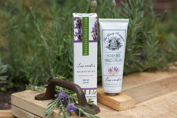 Lavender Beeswax Hand Cream