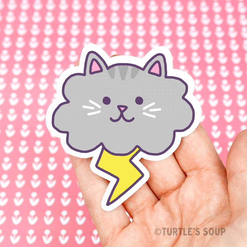 Cat Cat Vinyl Sticker