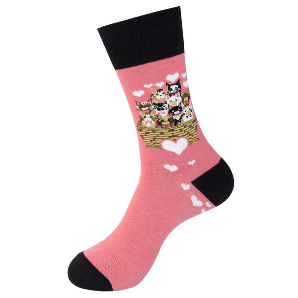 Funatic Socks - I Love Cats