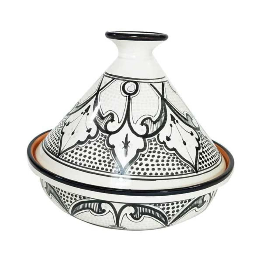 "Haqima Design 10"" Cookable Tagine"