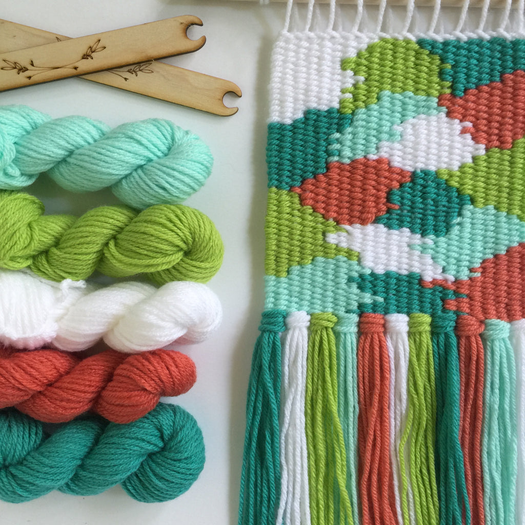 DIY Tapestry Weaving Kit - Tropical