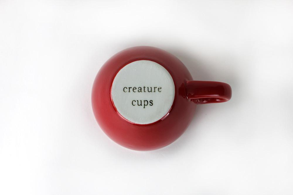 Creature Cups - Crocodile (Red)
