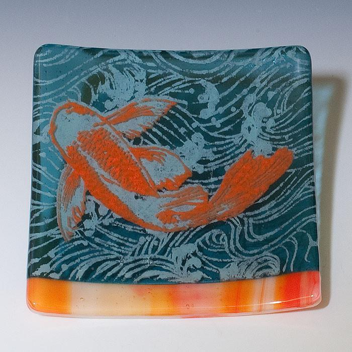 Kiku Handmade - Koi Catch-all Dish