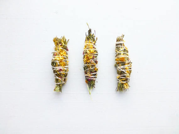 Gypsy Gold Cedar Smudge stick