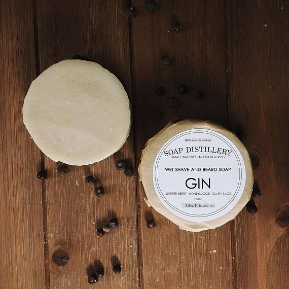 Old Fashioned Wet Shave And Beard Soap - Gin // Scotch // Old Fashioned
