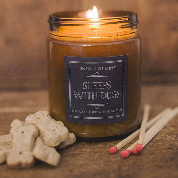 Sleeps with Dogs Soy Candle