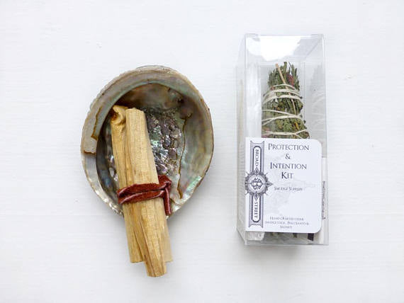 Protection + Intention Smudge Kit