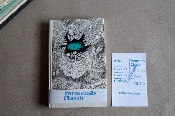 "Hardcover notebook ""Tartuensis Classic"" from Old Book Covers"