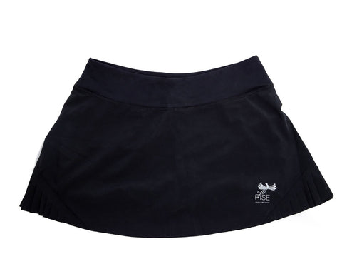 WOMEN'S RISE-HAI PERFORMANCE SKORT BLACK